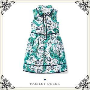 🍃Janie and Jack NWT(5) T paisley dress
